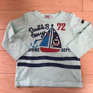 mikihouse - 美品 ミキハウス ダブルB Tシャツ ロンT 90センチ