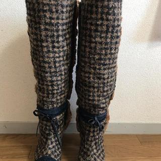 CHANEL - シャネル ブーツ 正規品 レディース 36-1/2 23-23.5cm