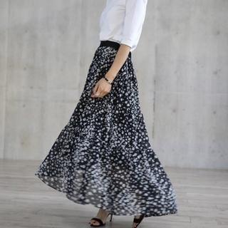Drawer - SHE Tokyo Lisa flower 美品 完売品 フレアロングスカート
