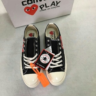 COMME des GARCONS - CDG Play x Converse 布靴 カップル 男女兼用   新品
