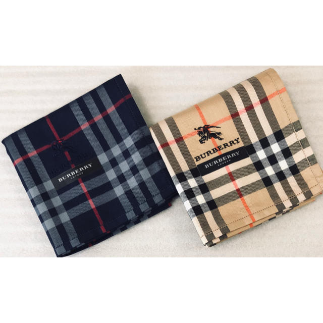 BURBERRY(バーバリー)の新品Burberry バーバリー♡ハンカチ レディースのファッション小物(ハンカチ)の商品写真