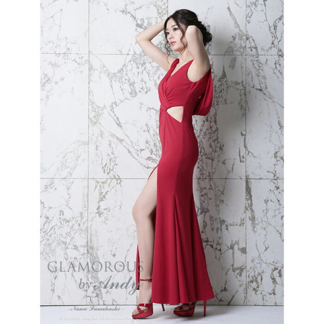 Andy(アンディ)のANDY グラマラス ロングドレス GMS-V477  レディースのフォーマル/ドレス(ロングドレス)の商品写真