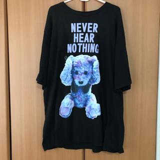 ミルクボーイ(MILKBOY)のミルクボーイ  NEVER HEAR NOTHING くま Tシャツ(Tシャツ/カットソー(半袖/袖なし))