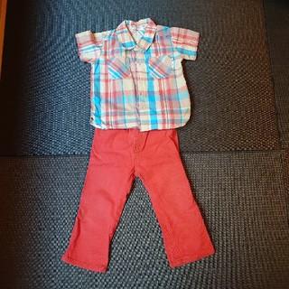 ブランシェス(Branshes)のブランシェス  シャツ パンツ90(Tシャツ/カットソー)
