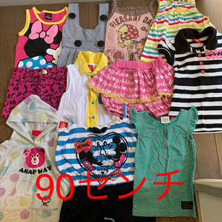 夏服まとめ売り 女児服(90&95せんち)43枚(その他)