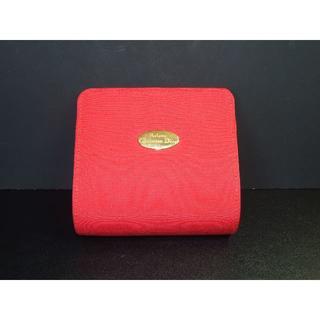 クリスチャンディオール(Christian Dior)の3089 パルファン・クリスチャン・ディオール ミニポーチ 赤色 コスメ入れに(その他)