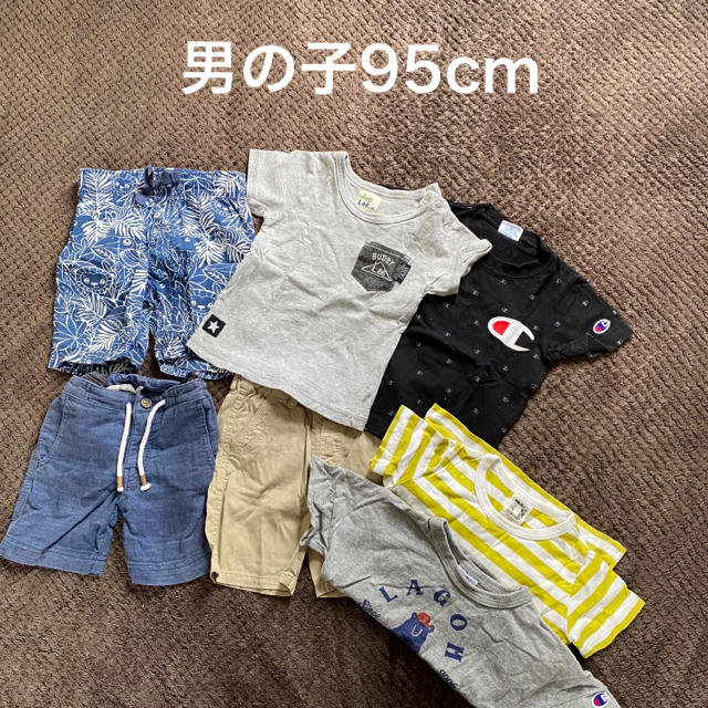 ZARA(ザラ)のまとめ売り 男の子95cm ZARA GAP LEE Champion  キッズ/ベビー/マタニティのキッズ服男の子用(90cm~)(Tシャツ/カットソー)の商品写真