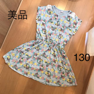 Disney - 【美品】アリエル ワンピース 130