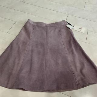 オールドイングランド(OLD ENGLAND)の新品O Eスエードスカート(ひざ丈スカート)