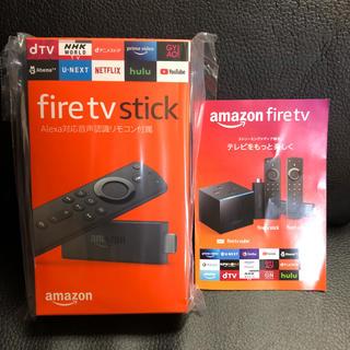 fire tv stick 新品未使用 amazon(映像用ケーブル)
