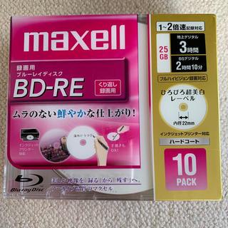 マクセル(maxell)のmaxell 録画用 ブルーレイディスク くり返し録画用(ブルーレイレコーダー)