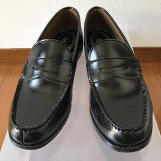 ホーキンス(HAWKINS)のHARUTA ローファー 黒 ホーキンス 学生 hawkins(ローファー/革靴)