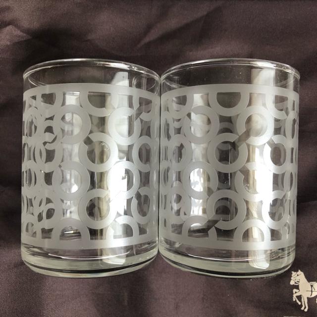 COACH(コーチ)の【新品未使用・非売品・ラスト1点】COACH コーチ 湯飲み コップ ペアセット インテリア/住まい/日用品のキッチン/食器(グラス/カップ)の商品写真