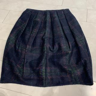 オールドイングランド(OLD ENGLAND)のOEウールスカート(ひざ丈スカート)