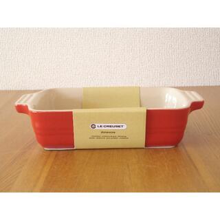 ルクルーゼ(LE CREUSET)のルクルーゼ レクタンギュラーディッシュ 19cm アップル■耐熱 グラタン皿(食器)