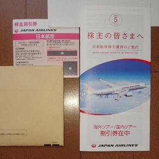 JAL(日本航空) - JAL 株主優待券 2020年度最新版