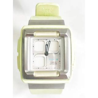 ベビージー(Baby-G)の腕時計*babyG*ベビージー*パステルグリーン*ラバー*WR10BAR*mtf(腕時計)
