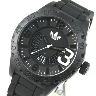 アディダス(adidas)のアディダス adidas ニューバーグ ADH2963  限定モデル  黒(腕時計(アナログ))