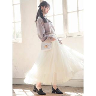 GRL - 【新品タグ付き】チュールスカート ホワイト