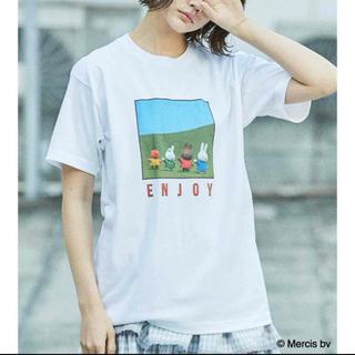 メリージェニー(merry jenny)のミッフィー Tシャツ ホワイト(Tシャツ(半袖/袖なし))