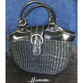 濱野皮革工藝/HAMANO - 【濱野皮革工藝】カゴバッグ【保存袋付き】