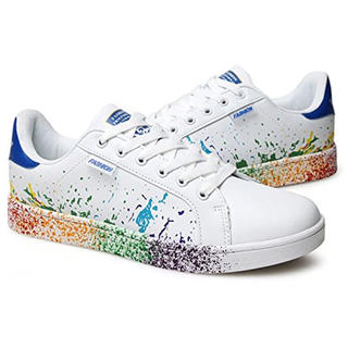 アディダス(adidas)の即購入ok男女兼用カラフルスニーカー韓流adidas青好きに♪23スタンスミス(スニーカー)