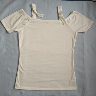 ユメテンボウ(夢展望)のトップス オフショルダー Tシャツ(カットソー(半袖/袖なし))