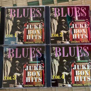 JUKE BOX HITS BLUES CD4枚セット!(ブルース)