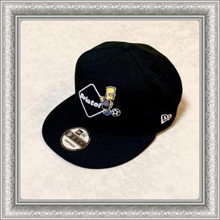 エフシーアールビー(F.C.R.B.)のF.C.R.B ブリストル キャップ 帽子 ニューエラ シンプソンズ 黒 F(キャップ)