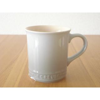 ルクルーゼ(LE CREUSET)のルクルーゼ マグ 400ml ミストグレー■新品 マグカップ ルクルーゼ マグ (食器)