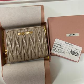 miumiu - miu miu ミニ財布 コインケース カードケース