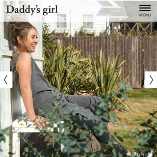 ALEXIA STAM - Daddy's girl ビンテージスリットロングワンピ