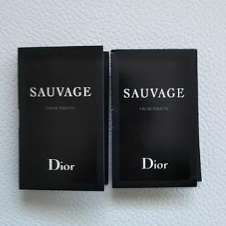 Dior - ディオール ソヴァージュ サンプル 2個