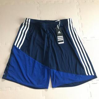 adidas - 新品 定価2,500円 ハーフパンツ サッカーウェア スポーツウェア 3L XO