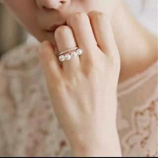 イエナ(IENA)のパールリング(リング(指輪))