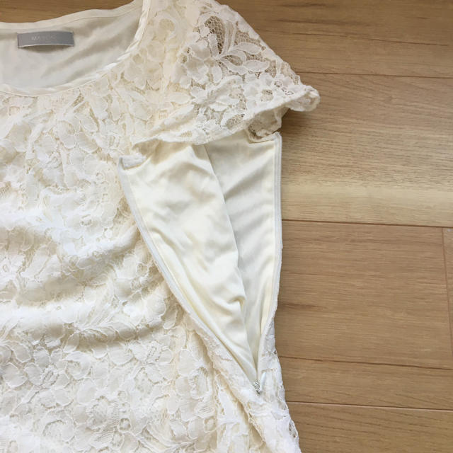 授乳服 レースブラウス キッズ/ベビー/マタニティのマタニティ(マタニティトップス)の商品写真