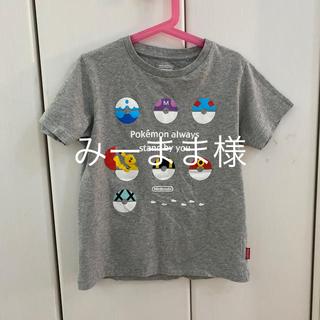 ユニクロ(UNIQLO)のユニクロ 130 Tシャツ ポケモン(Tシャツ/カットソー)
