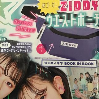 ニコ★プチ 4月号付録 ZIDDYウエストポーチ♡(ファッション)