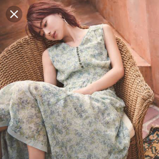 Rirandture - リランドチュール ♡スパンローン 小花柄ワンピース