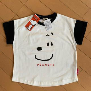 PEANUTS - スヌーピー フェイス Tシャツ 100