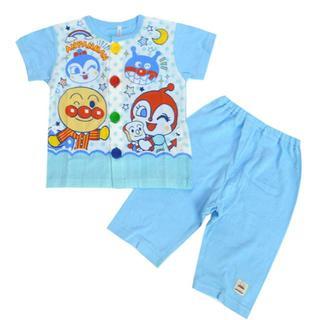 アンパンマン - アンパンマン 100cm お着替え応援パジャマ 2020夏 ブルー