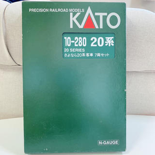 カトー(KATO`)のKATO 10-280 20系 さよなら20系 客車 7両セット(鉄道模型)