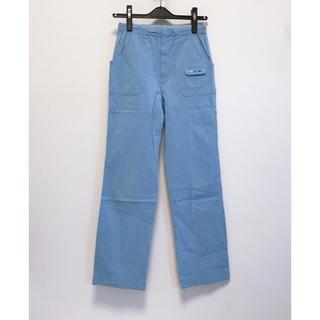 ファミリア(familiar)のファミリア familiar 水色 パンツ ブルー 子供服 150 コットン(パンツ/スパッツ)
