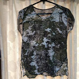 カミシマチナミ(KAMISHIMA CHINAMI)のトップス(Tシャツ(半袖/袖なし))