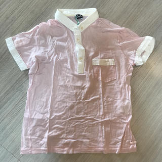 ドルチェアンドガッバーナ(DOLCE&GABBANA)のD&G ドルチェアンドガッバーナ ピンクボタンダウンシャツ ポロシャツ(ポロシャツ)