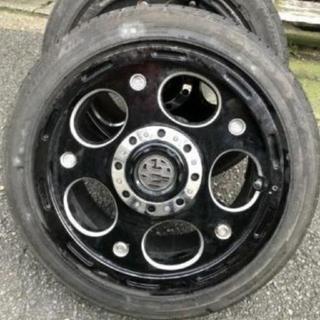 グッドイヤー(Goodyear)のアルミホイール タイヤ4本セット(タイヤ・ホイールセット)