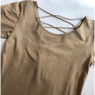 アップタイト(uptight)の背中編み上げトップス(Tシャツ(半袖/袖なし))