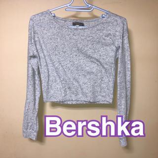 ベルシュカ(Bershka)のベルシュカ ショート丈 トップス(Tシャツ(長袖/七分))