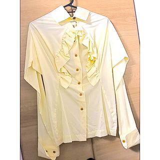 ヴィヴィアンウエストウッド(Vivienne Westwood)のヴィヴィアンウエストウッド シャツ ブラウス フリル 新品未使用(シャツ/ブラウス(長袖/七分))