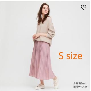 UNIQLO - UNIQLO シフォンプリーツスカート